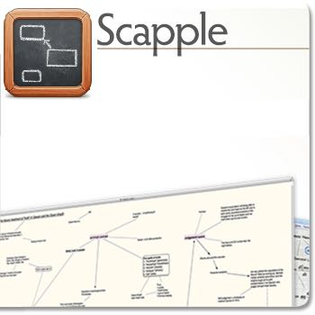 Scapple: a great little brainstorming gem