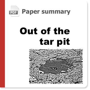Dealing with complexity - Out of the Tar Pit